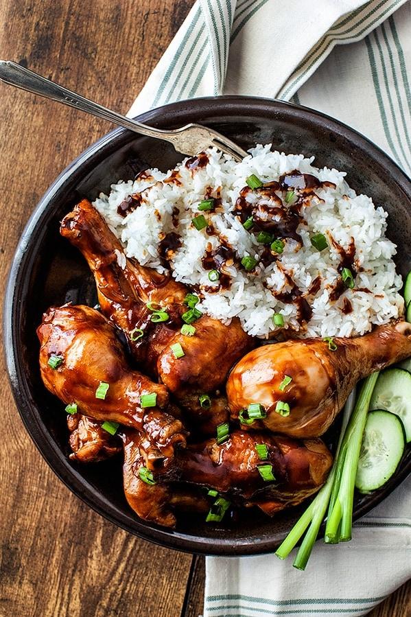 Hoisin Sriracha Chicken Wings