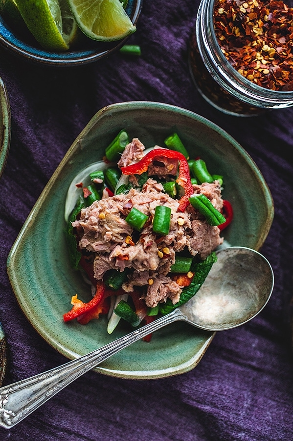 Green Beans and Fresh Mint Tuna Salad