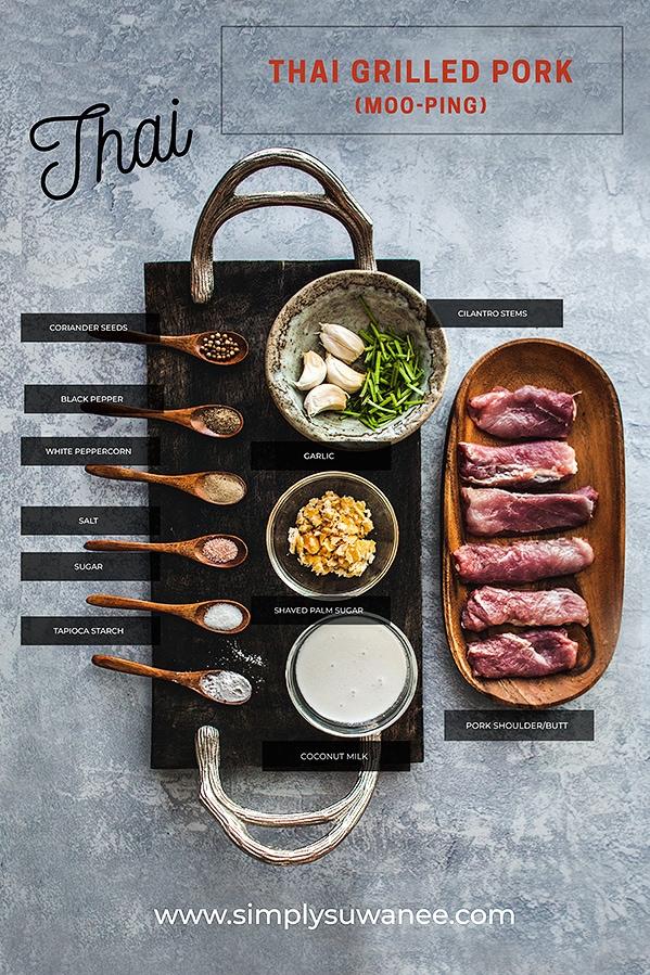 Thai grilled pork recipe