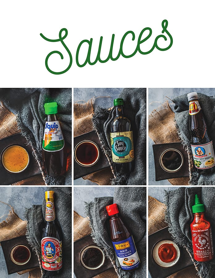 Essential Thai sauces