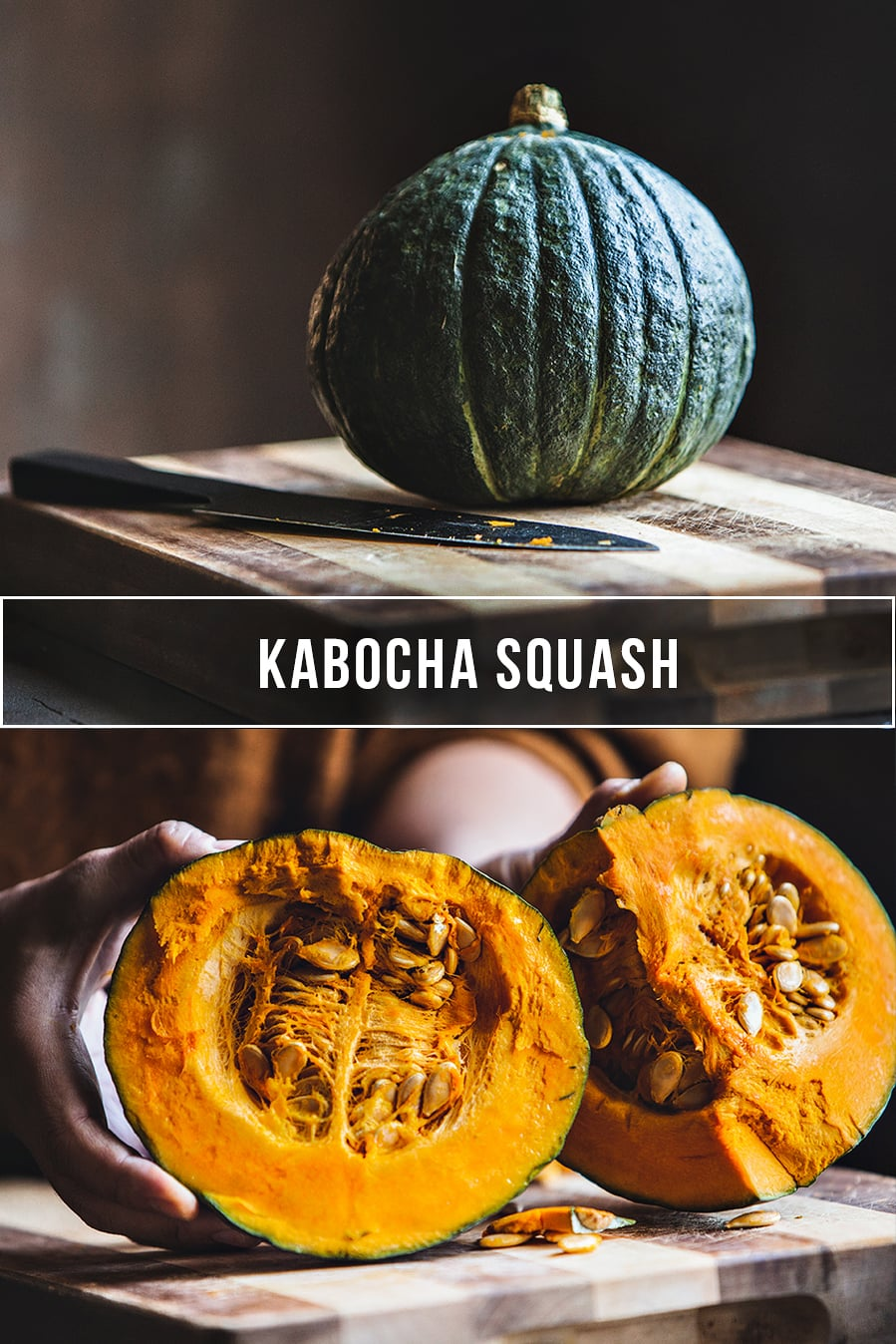 What is a kabocha squash and how to cook with Kabocha squash. Easy recipes for kabocha squash.