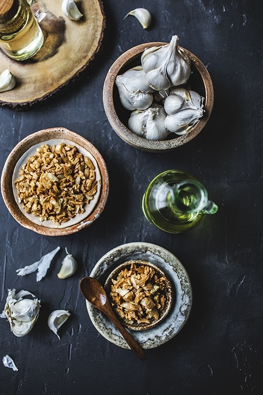 Thai Fried Garlic Oil Recipe