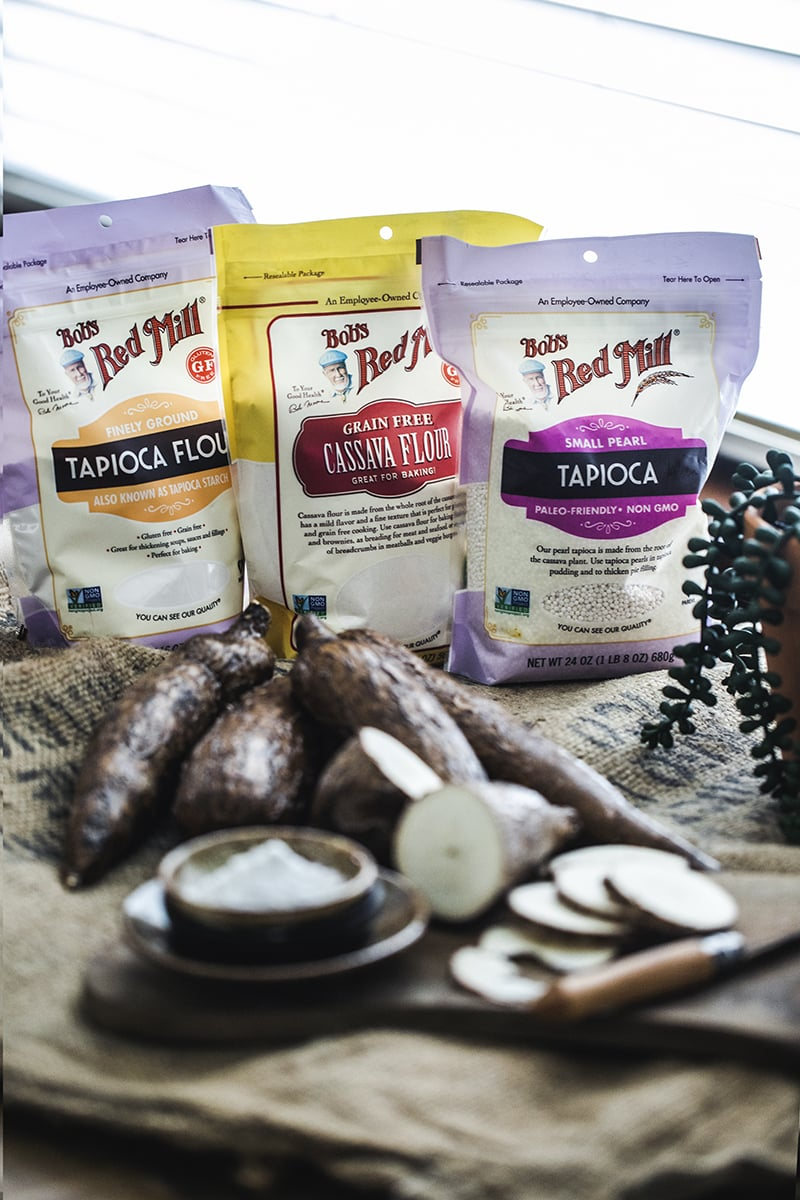 What is tapioca starch? Tapioca starch or tapioca flour is made from the starch of theroot of a tuber vegetable called Cassava. Thesoft and powdery flour is often used in Thai cooking as a thickening agent for recipes like gravies, sauces, desserts, stir-fries,and soups.#tapiocaflour #cassava #cassacaflour