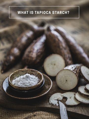 tapioca starch made from cassava