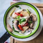 Ingredientlist for Tom Kha Gai Recipe